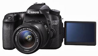Canon Eos 70D Lensa Kit