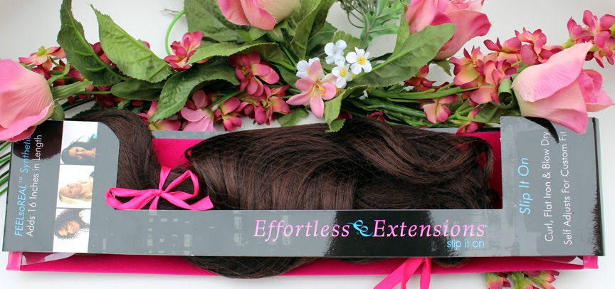 Synthetic Hair Extensions by Effortless Extensions!