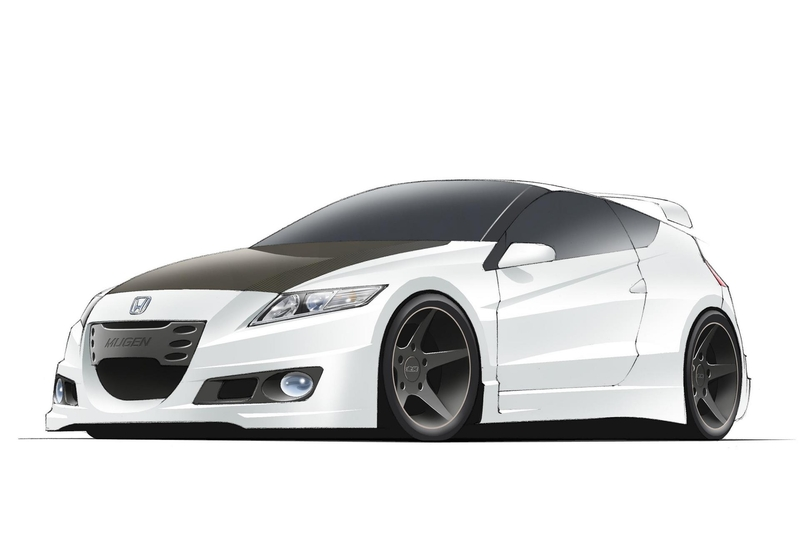 Honda CR-Z Mugen Highly-Tuned Version
