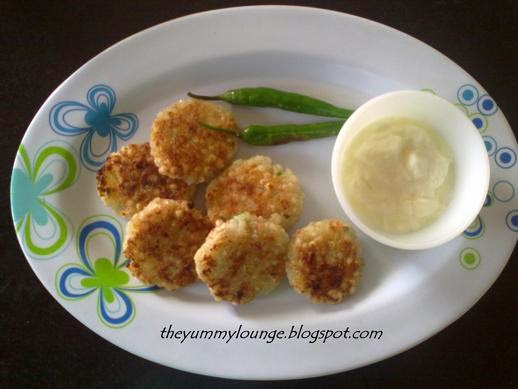 Sago Pearls Balls Cutlet - Sabudana Tikki - Tapioca Pearls Recipe