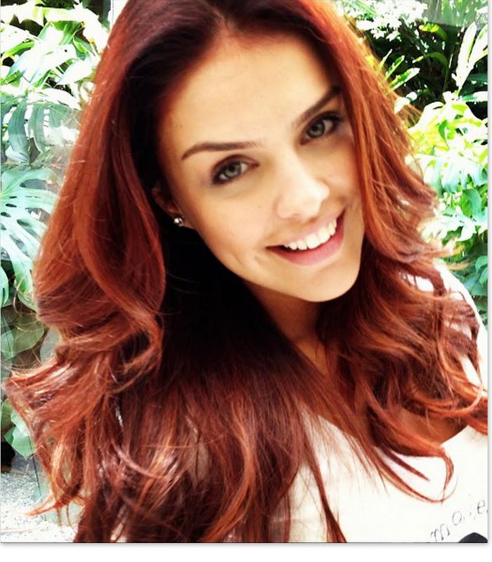 Excepcional Rumor and Horror: Mudança de cabelo: do castanho avermelhado  HA72