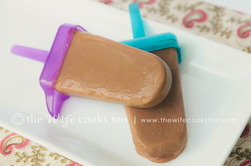 The Wife Cooks Too: Mexican Chocolate Fudgesicles (Popsicles)