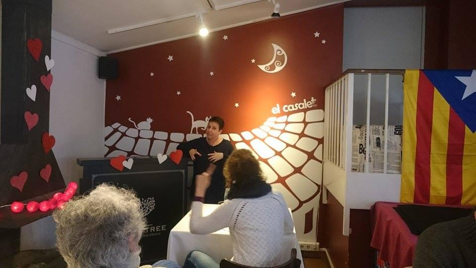 Conferencia sobre mi novela en el Casal cultural