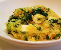 Risoto de Quinua com Tomate e Tofu (vegana)