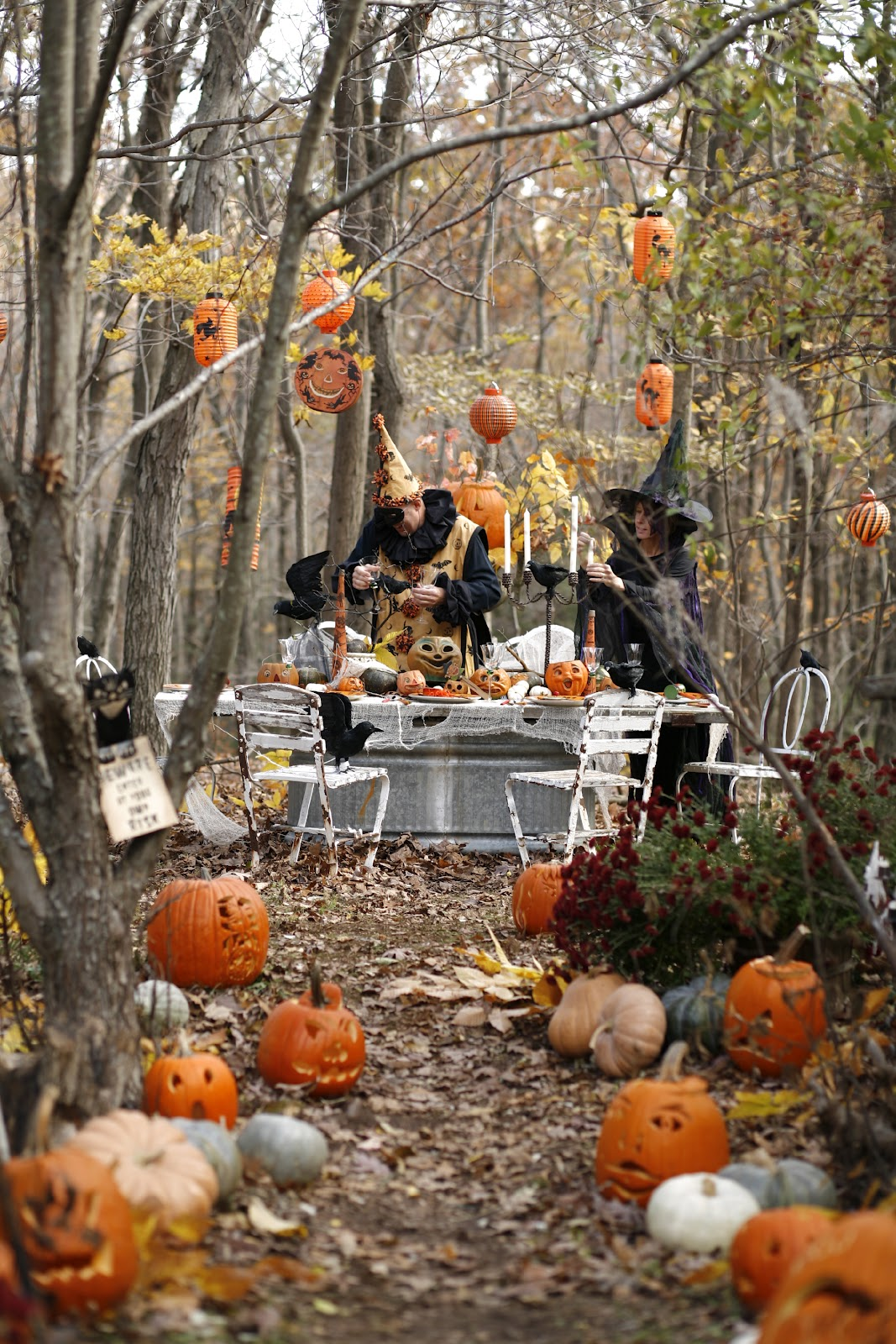 karin lidbeck celebrating october in style with do it yourself ideas