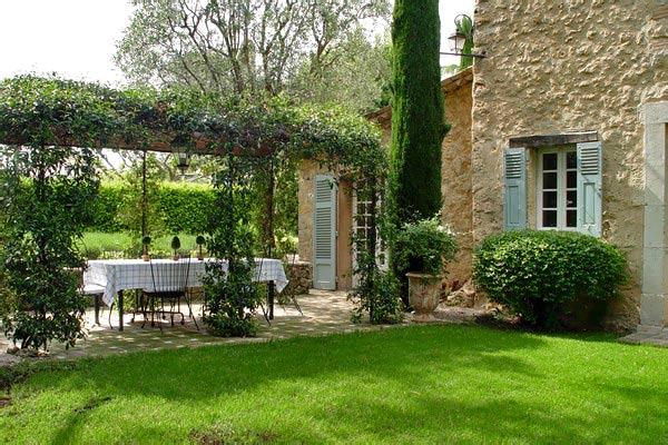Estilo rustico los ultimos jardines rusticos - Jardines para casas de campo ...