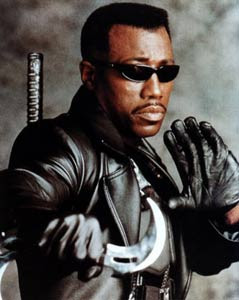 Wesley Snipes, el actor de acción en Blade