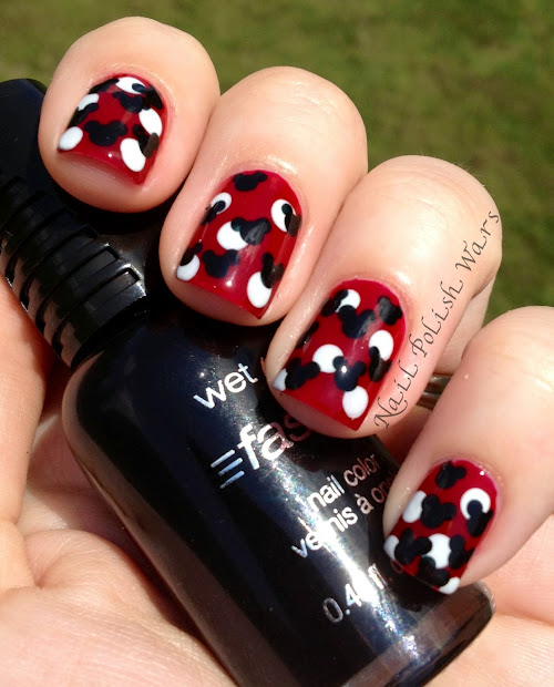 nail polish wars mickey mouse