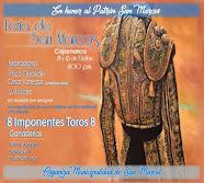 Céspedes, Vanegas y  López, anunciados en la feria de Cajamarca, 21 al 23/10.