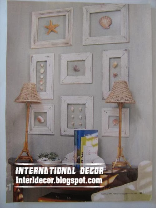 Interior Design 2014: Decorating walls with picture frames
