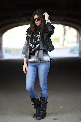 What To Wear With McQueen Skull Scarf