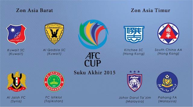 Suku Akhir AFC Cup 2015 JDT Dan Pahang