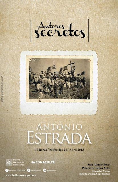 El ciclo Autores Secretos presenta a Antonio Estrada