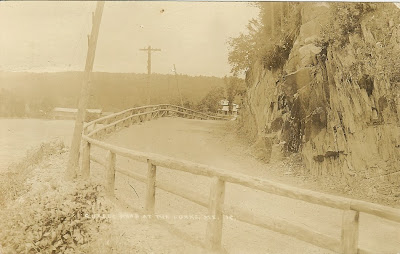 Old Quebec Road, The Forks, ME, 1918