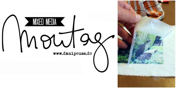Mixed Media Montag Anleitung von Trudi Schlicht für www.danipeuss.de