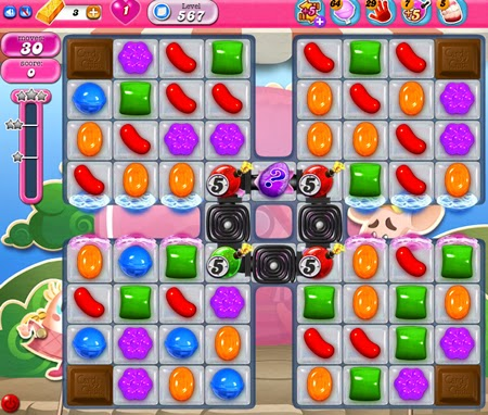 Candy Crush Saga 567