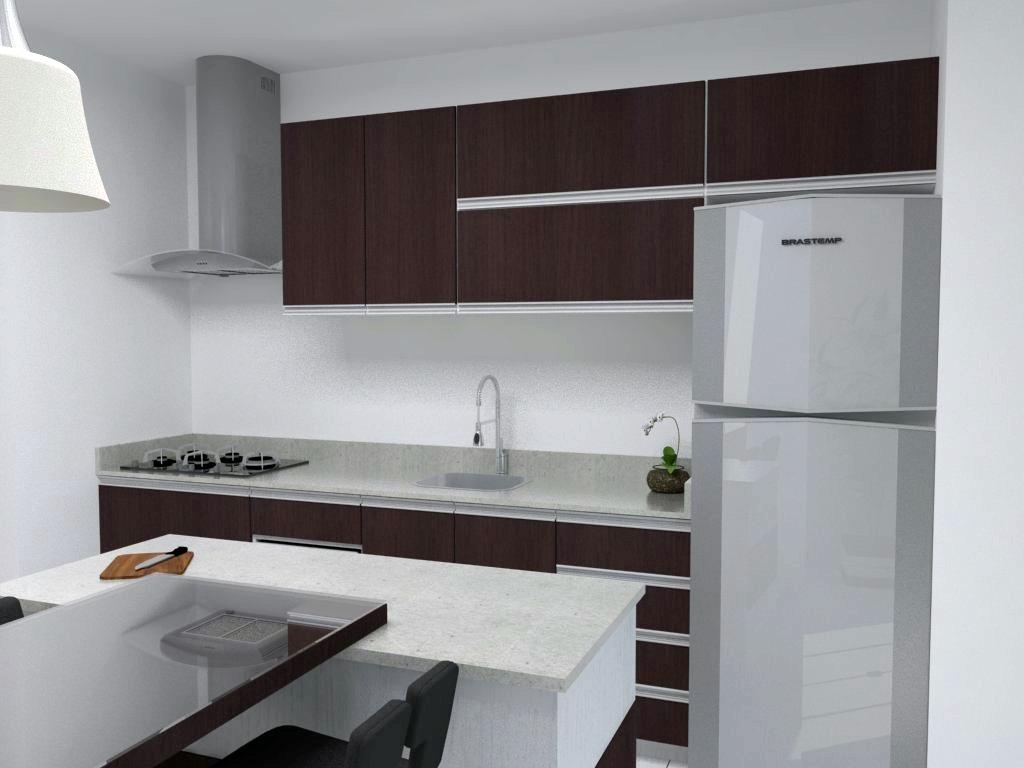 de cozinhas integradas com a sala projetos de cozinhas integradas #7E6043 1024 768
