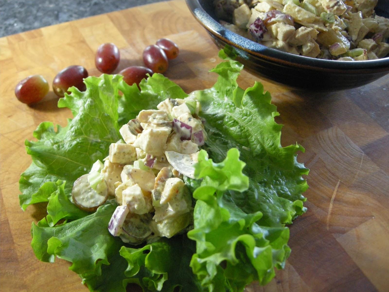 ... Monkey Business: Turkey Moreovers! Rosie Makes Curried Turkey Salad