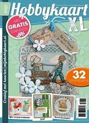 I design and write for Mijn Hobbykaart/Creatief met Kaarten