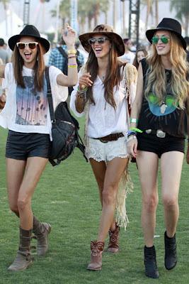 los mejores looks del festival coachella 2013, looks festivaleros