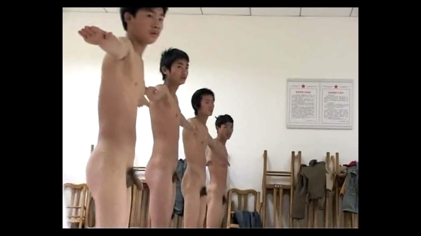 Nude male military physical exams