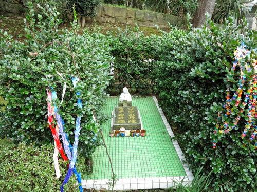 Tomb of Nagai Takashi, Sakamoto International Cemetery Nagasaki