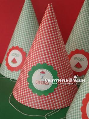 chapeuzinho personalizado decoração picnic