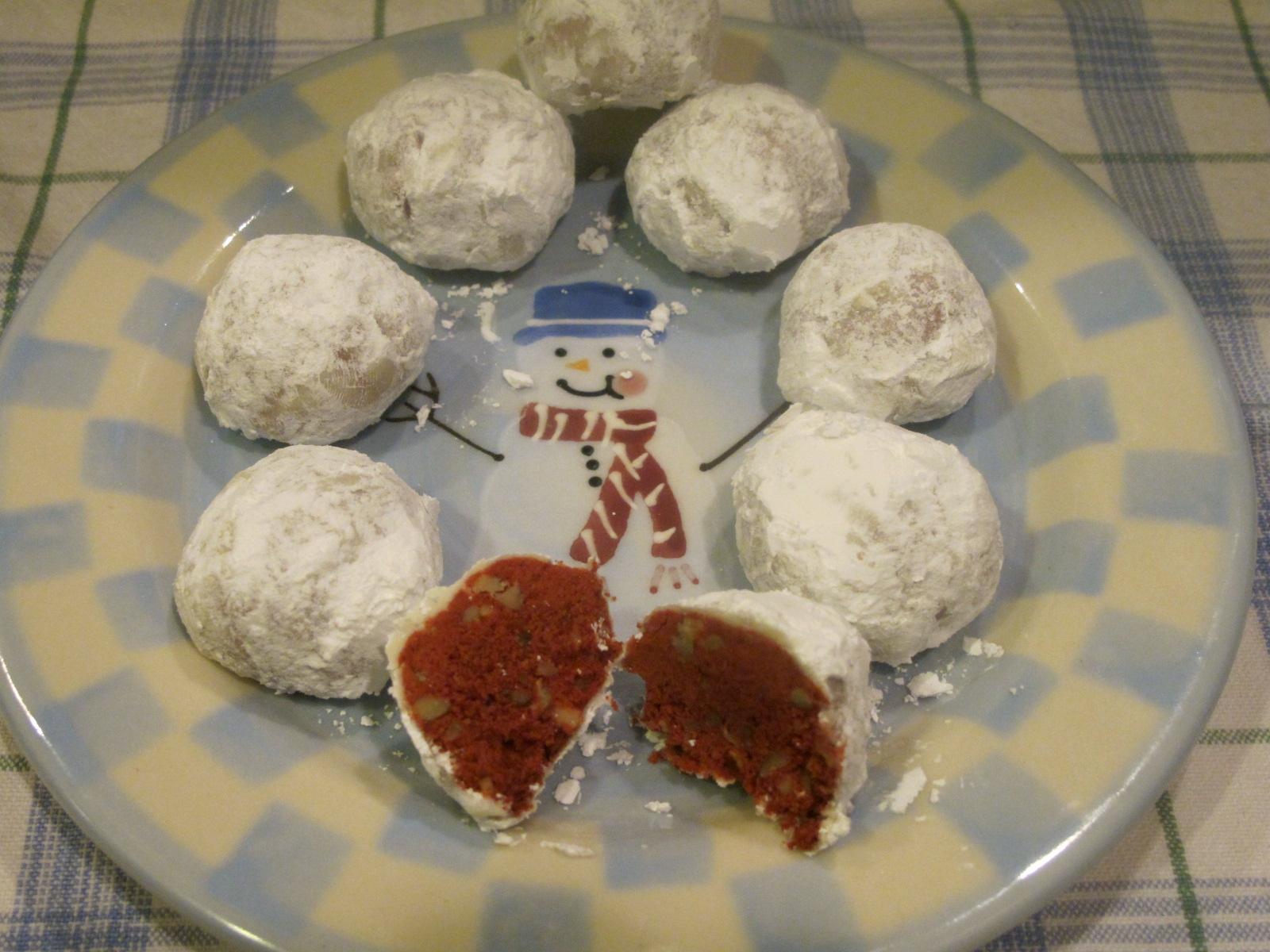 My Mother S Apron Strings Red Velvet Snowballs