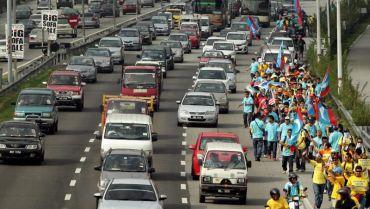 Kronologi Himpunan Kebangkitan Rakyat sehingga jam 12 tengah hari