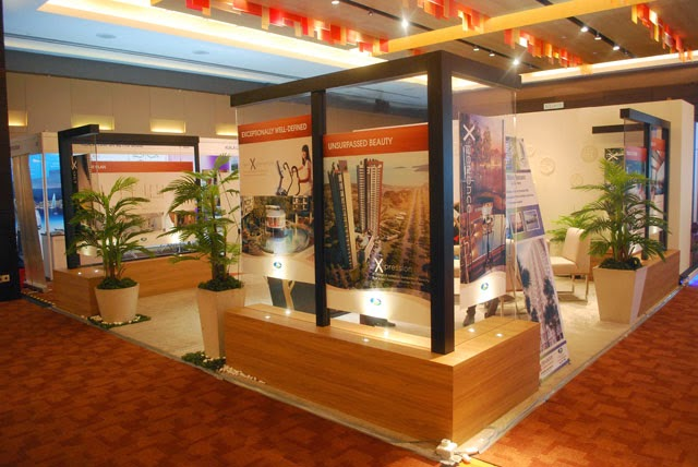 Property Exhibition Booth : Chic urban living pearl of the orient property expo