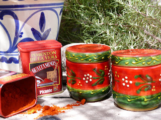 spanish ceramics and smoked paprika