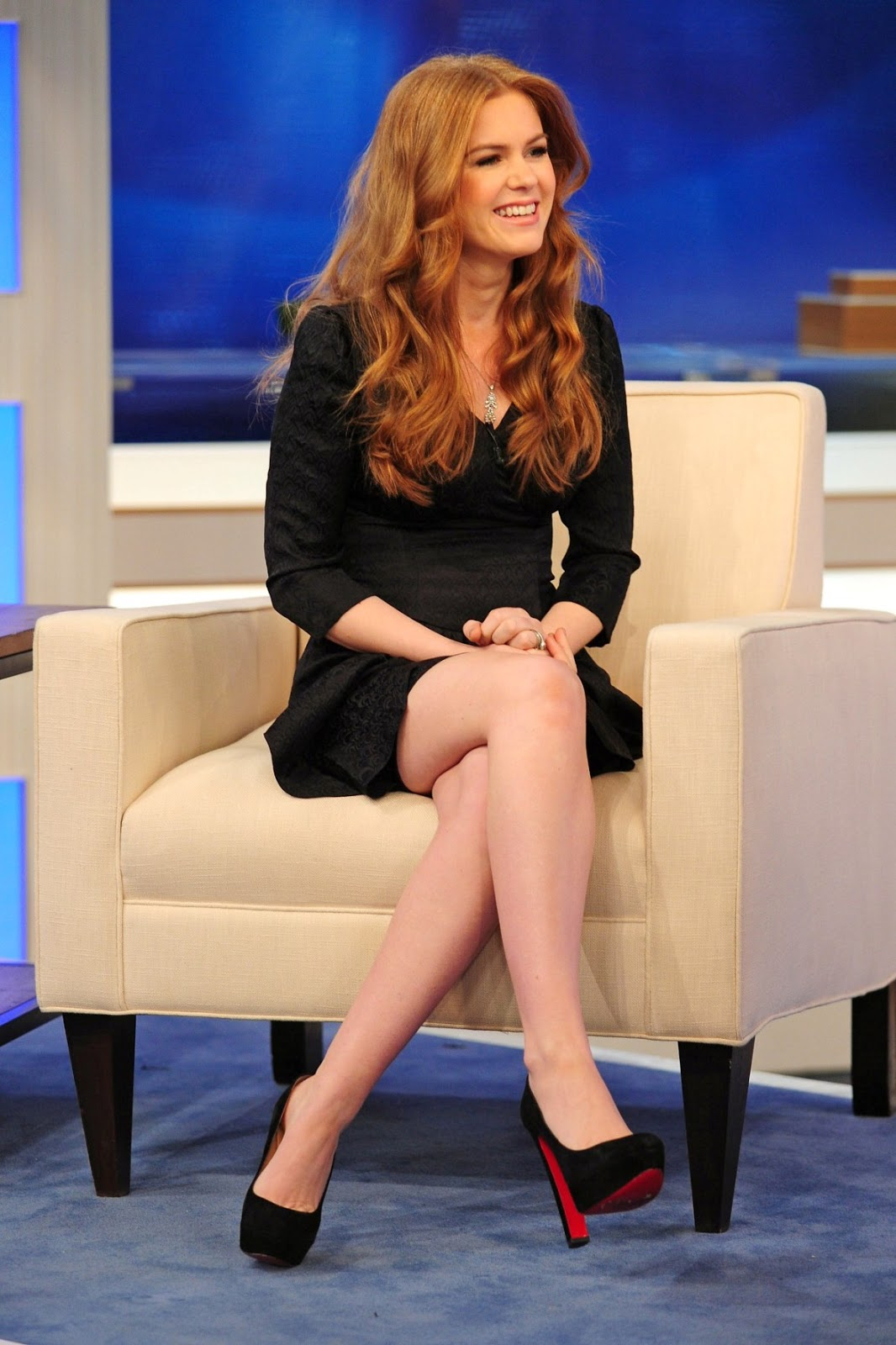 isla fisher sexy legs