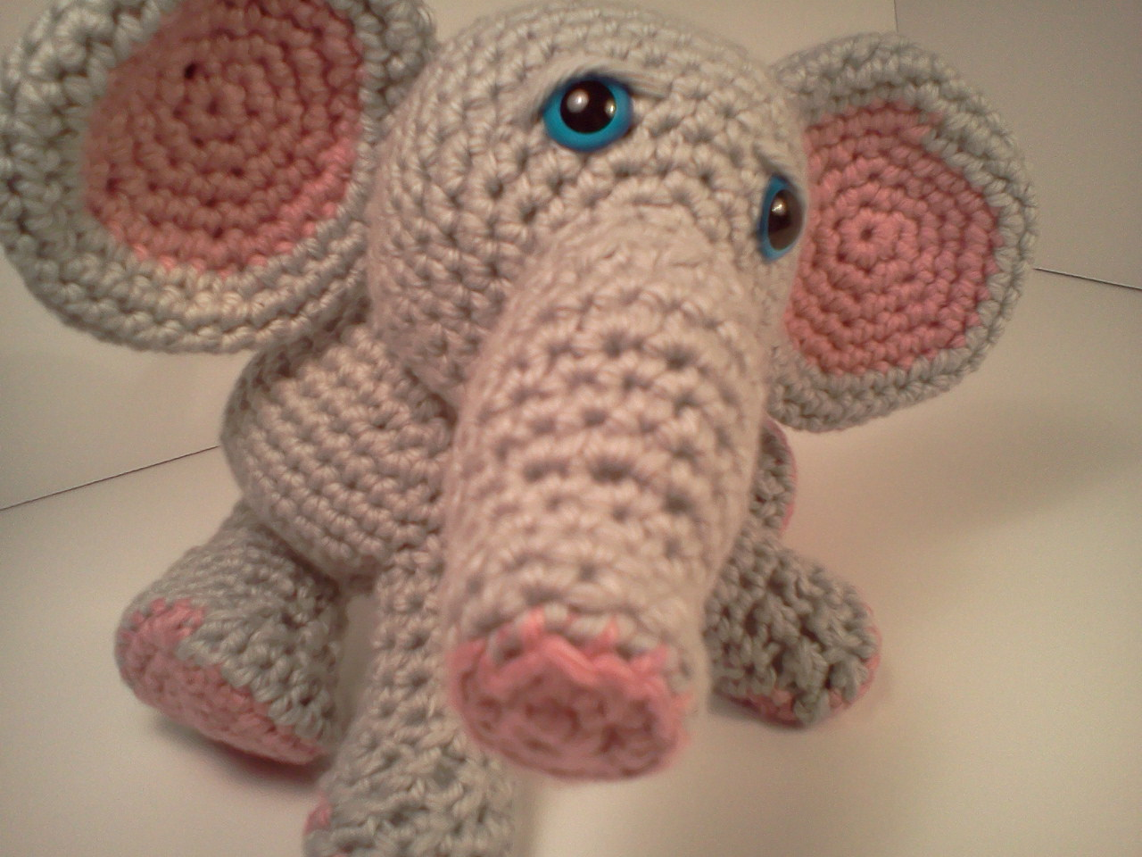 Free Crochet Pattern Stuffed Animals : Serendipity Creative: Lucas Baby Elephant AmiPal ...