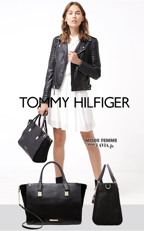 Sacs à Main Tommy Hilfiger : Sac ? main tommy hilfiger noir