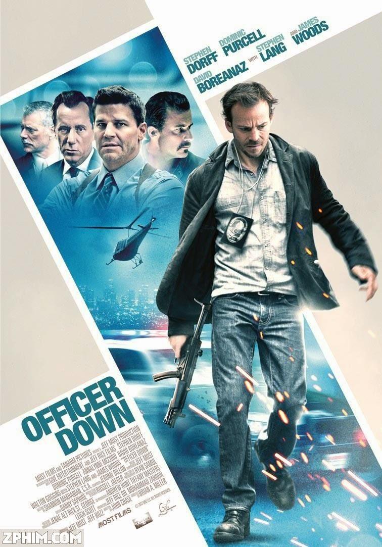 Viên Sĩ Quan - Officer Down (2013) Poster
