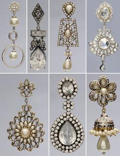 antique wedding earrings