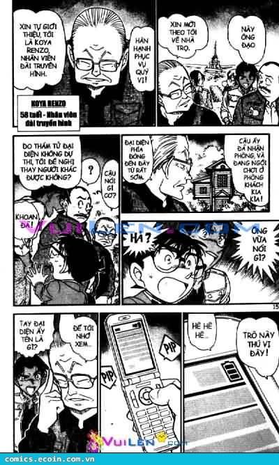 Detective Conan - Thám Tử Lừng Danh Conan chap 562 page 14 - IZTruyenTranh.com