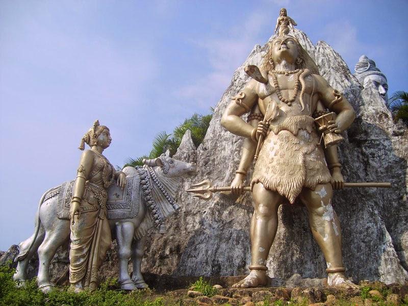 Murudeshwar Shiva Statue park sculptures