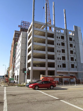 Pere Marquette Complete, New Hotel Under Construction