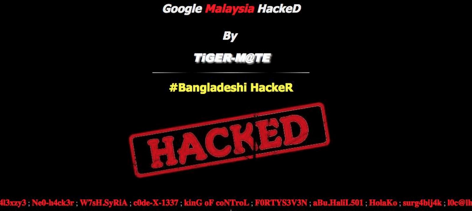 Google Malaysia digodam Tidak Pihak Google Nafi