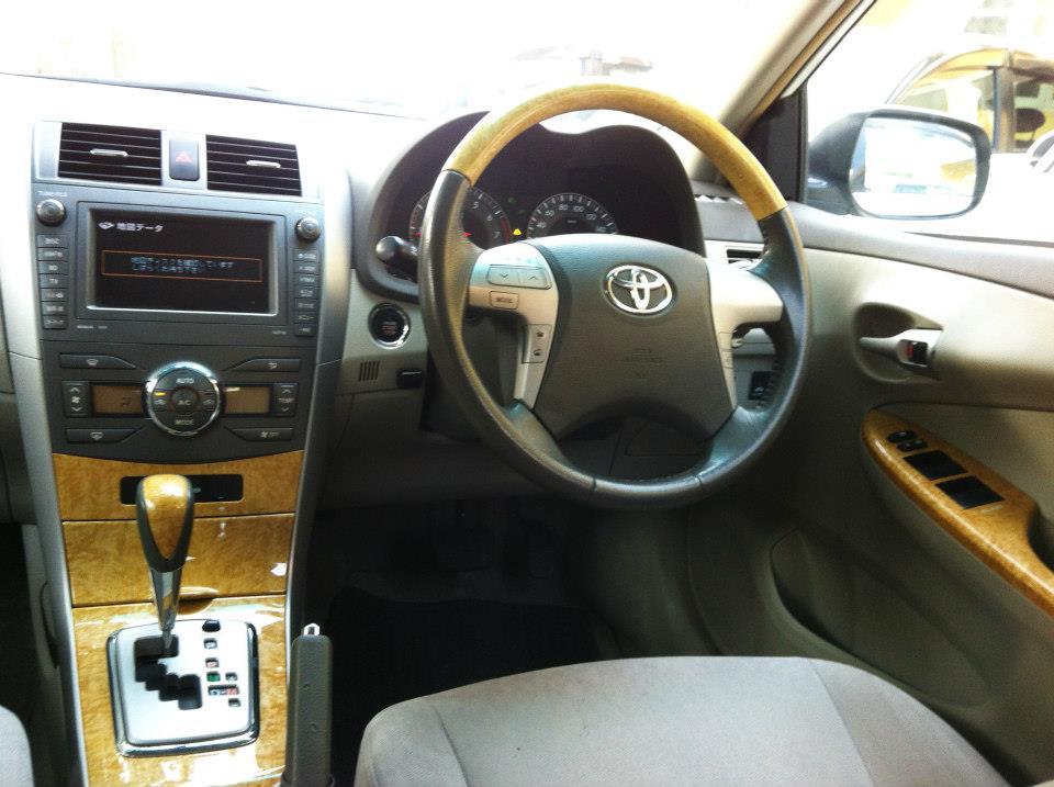 Toyota Axio Corolla Luxel Edition 1800cc 2007 Cruise