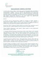 INSEGURIDADE XURÍDICA DO PXOM (ANO 2008)