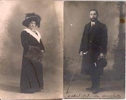 DON AUGUSTO Y DOÑA LAURA-1903-