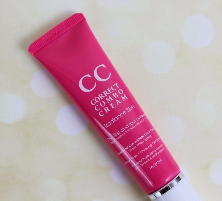 Mizon Correct Combo Pink Radiance CC Cream tube