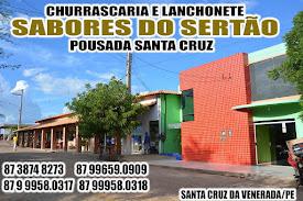 Em Santa Cruz: Churrascaria, Lanchoete e Pousada