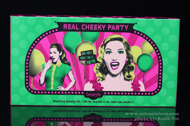 A photo of Benefit Real Cheeky Party Kit