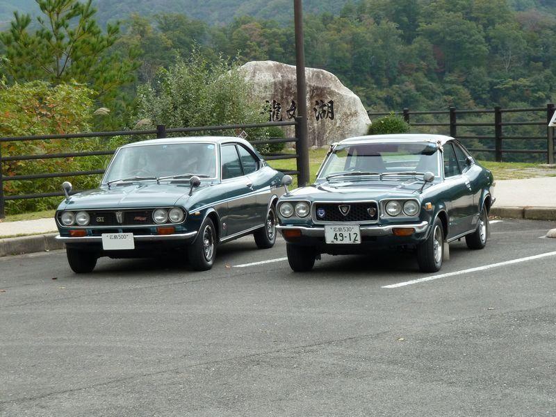 Mazda Capella (RX-2) & Mazda Savanna (RX-3)
