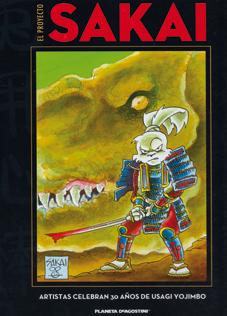 El proyecto Sakai - Planeta DeAgostini - libro homenaje al samurai Usagi Yojimbo