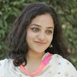 Nitya meenon Latest Photo Gallery in Salwar Kameez at New Movie Opening 7