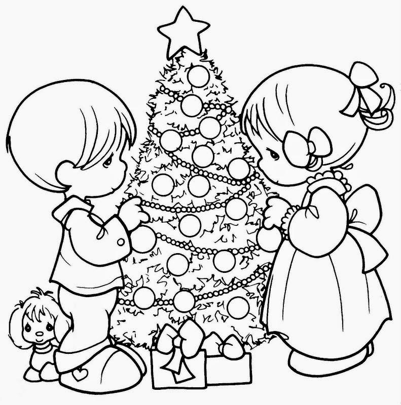 Im genes de navidad para colorear dibujos para ni os - Cosas de navidad para ninos ...